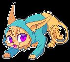 Kitty mini pixel by Rorita-Sakura