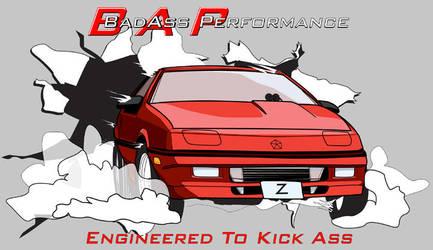 BadAssPerformance TShirt by supercrazzy