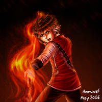 Flame Champion (Suikoden) by Hemuvel