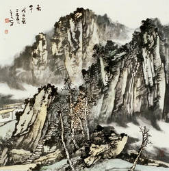 Chinese ink painting by ivy520ee