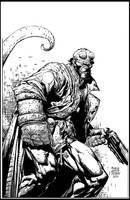 Hellboy INKS by Atomic-Hermit