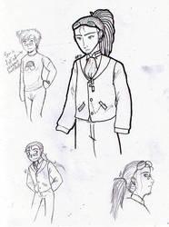 Alexis Doodles by magnublaze