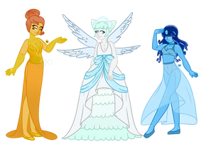 Fancy Aura Quartz Adopts (1 OPEN) by CandieStars