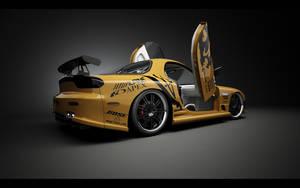 Mazda RX-7 Studio_Back by Saleri