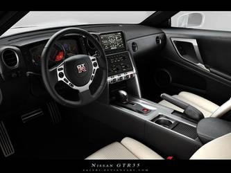 GTR 35 Interior by Saleri