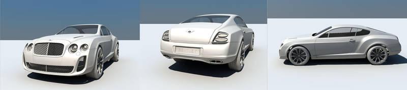 Bentley WIP 2 by Saleri