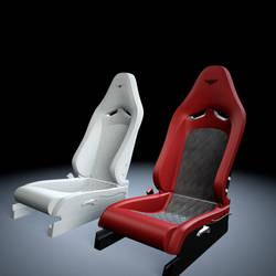 Bentley Seat wip by Saleri
