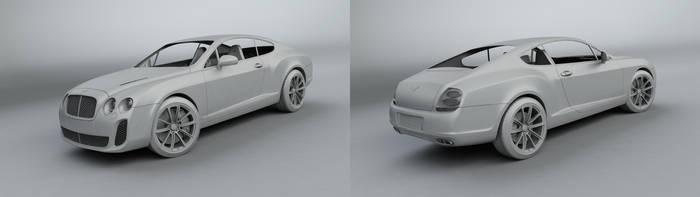 Bentley WIP 3 by Saleri