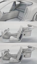 Bentley Interior WIP by Saleri