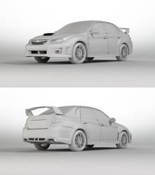 Subaru Impreza WRX STI wip by Saleri