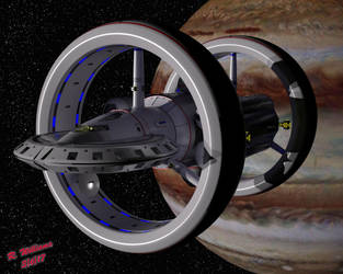 NASA Warp Ship by tkdrobert