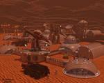Mars Forward Outpost by tkdrobert