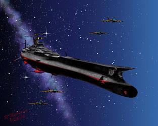 Yamato by tkdrobert