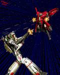 Mecha Wars III by tkdrobert