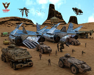 UN Military Training Grounds by tkdrobert
