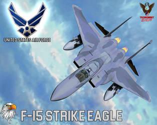 F15 Strike Eagle by tkdrobert