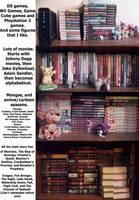 Meh Bookshelf. by Miiroku