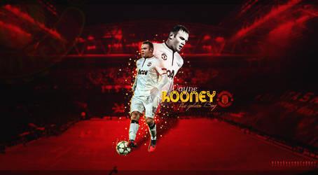 Wayne Rooney  Wallpaper by Alhassan4Gfx