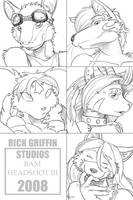 BAM HEADSHOT III by RickGriffin