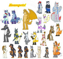 Housepets Style Commissions 2 by RickGriffin