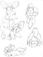 Ponbon Sketches by RickGriffin