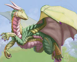 Oren the Dragon by RickGriffin