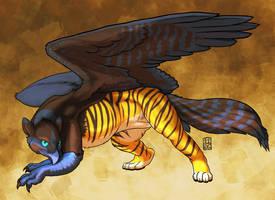 Tain Gryphon alt colors by RickGriffin
