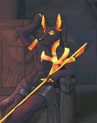 Obsidian Throne by RickGriffin