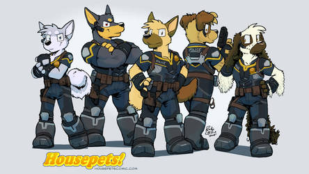 K-9 Squad by RickGriffin