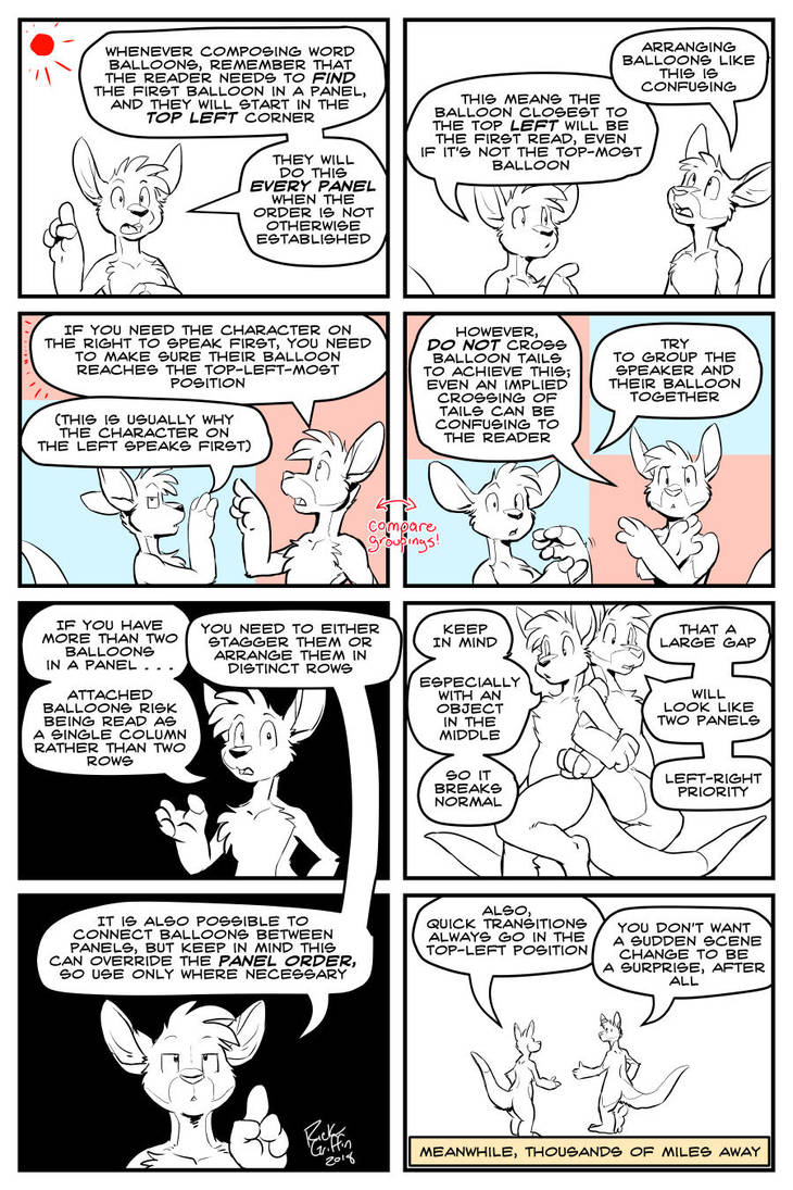 Educate Yourself With Bruce And Roos: Word Balloon by RickGriffin