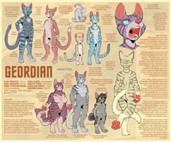Geordian Species Sheet by RickGriffin