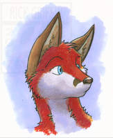 Marker Fox by RickGriffin