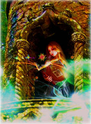 BOOK OF SPELL by Huzznie
