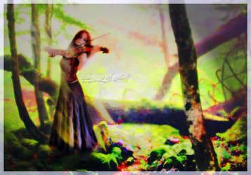 Harmony of nature by Huzznie