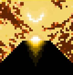 Monolith Pixel Art by DylanBaugh