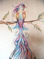 Mural Closup: Bird by sivvus