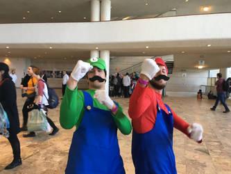 it'sa us! it'sa da Mario brothers by B-kit1n4m3rika