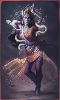 Character Design challenge - Indian Dancer by JmTheDuque