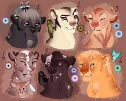 Cub/Teen lion, adopt. AUCTION. CLOSED: by BeeStarART