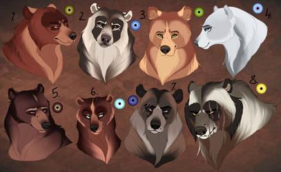 Bear adopts. CLOSED: by BeeStarART