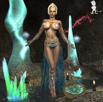 Minbari Priestess by Chup-at-Cabra