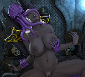 Drow vs Illithid Edit by Zakuman by Chup-at-Cabra