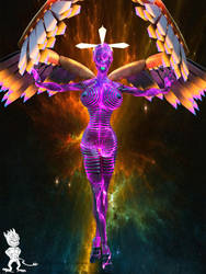 Techno Angel by Chup-at-Cabra