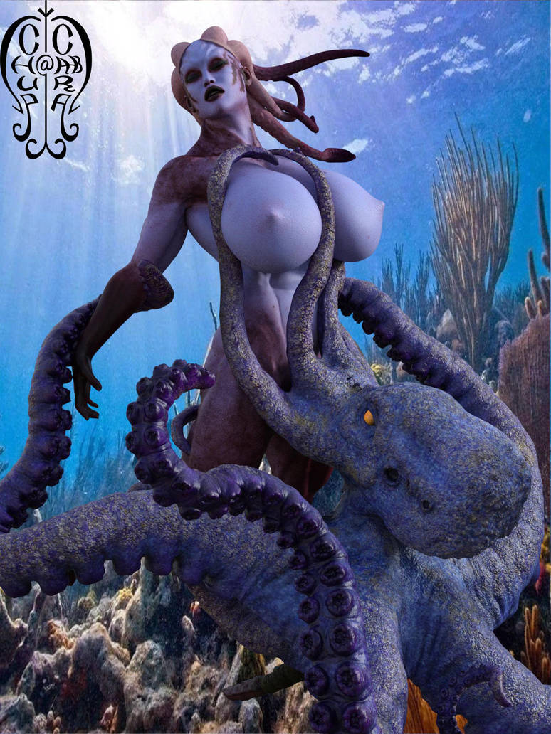 Sea Monster by Chup-at-Cabra