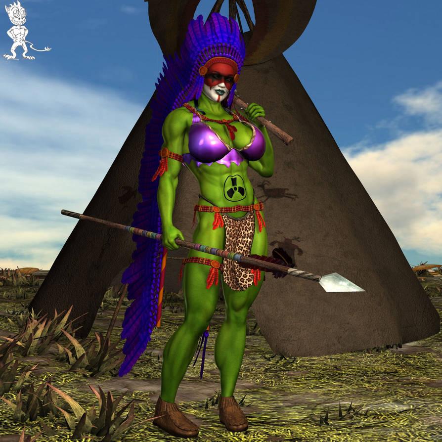 Gamma Tribe Jenny by Chup-at-Cabra