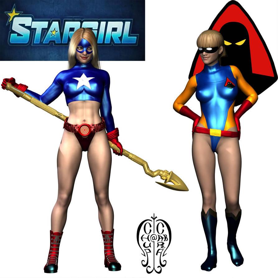 Stargirl and Jan by Chup-at-Cabra