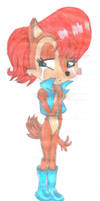 Sally Acorn by AwesomeBlossomPossum
