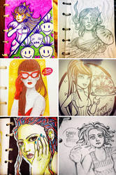 Sketches / December 2014 - January 2015 by betsyamparan