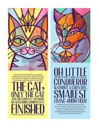 Oda al Gato by betsyamparan