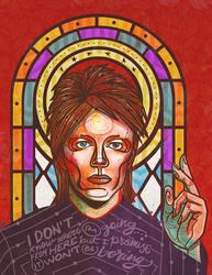 David Bowie by betsyamparan